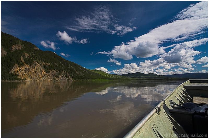 Heading up the Yukon.