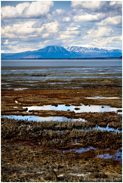 The Sleeping Lady - looking across the Cook Inlet from Anchorage, AK.