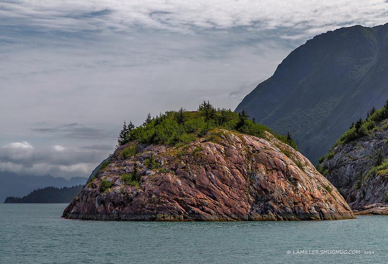Erratic Island Northwestern Fjord
