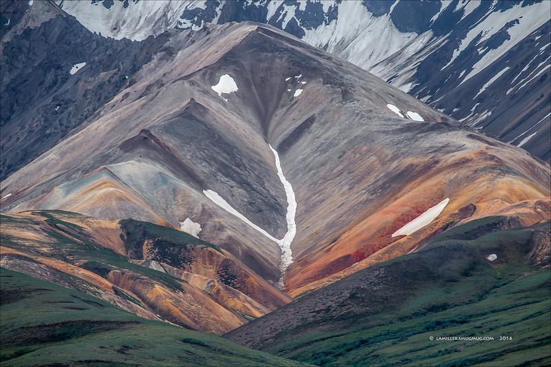 Cantwell Formation - Polychrome Region, Denali