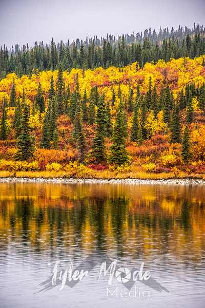 714  G Meiers Lake Fall Colors V
