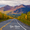 858  G Fall in South Central Alaska Road