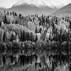1022  G Wrangell St  Elias National Park Fall Lake BW V