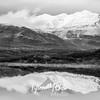 1484  G Snowy Mountain Reflection BW