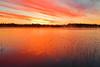 Alaska, Fairbanks, Chena Lake, Dawn, 阿拉斯加, 费尔班克斯, 黎明