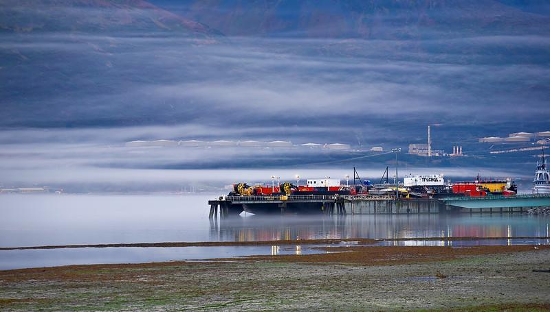 Alaska, Valdez, Port, 阿拉斯加, 瓦尔迪兹