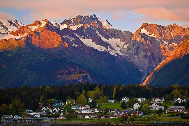 Alaska, Haines, Landscape, Sunrise,  阿拉斯加, 海恩斯, 日出
