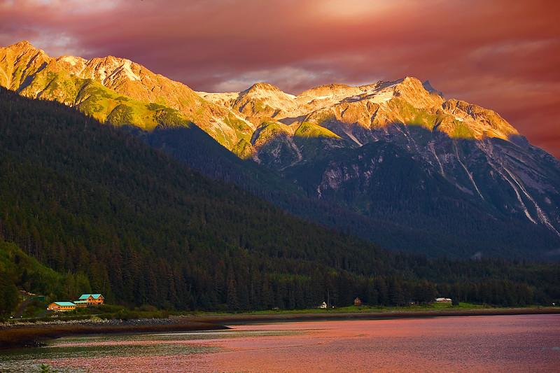 Alaska, Haines, Lutak Inlet, Landscape, 阿拉斯加, 海恩斯