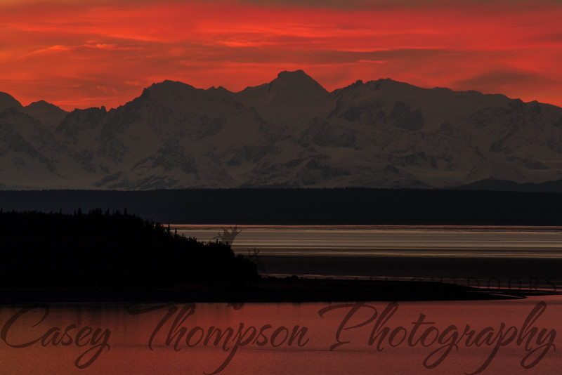 After the Sun Set - Cook Inlet - Anchorage, AK