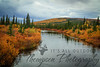 Downstream on the Kanuti River - Dalton Highway
