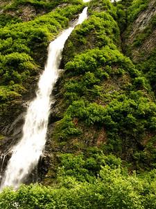 Bridal Falls near Valdez, AK.