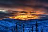 """12-Mile Summit Sunset"" 2:47pm January 5, 2013"
