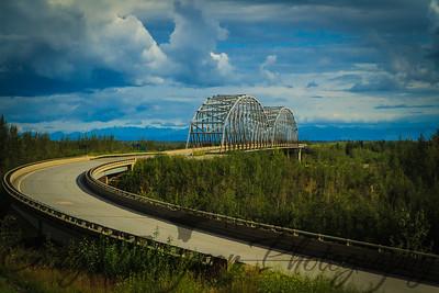 Bridge to the Alaska Range