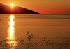 Sunset Across Cook Inlet - October 12, 2012