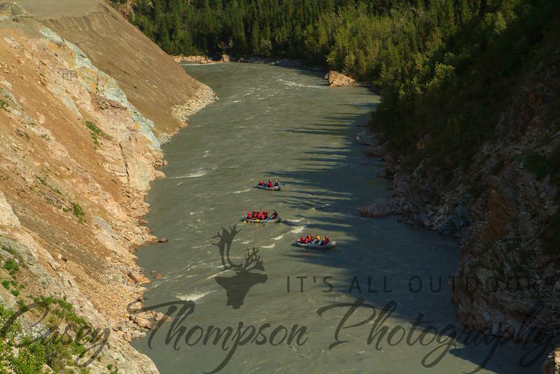 White Water Rafting the Nenana River