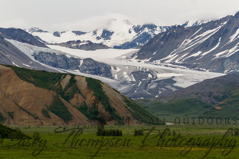 Gulkana Glacier, Richardson Highway, Alaska