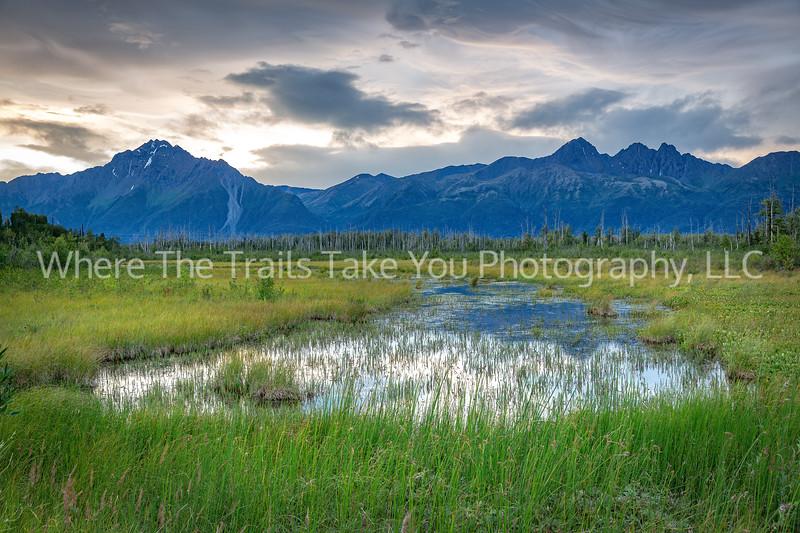 Chugach Mountain Landscape