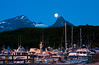 Valdez Harbor - Under a Full Moon - Valdez, AK