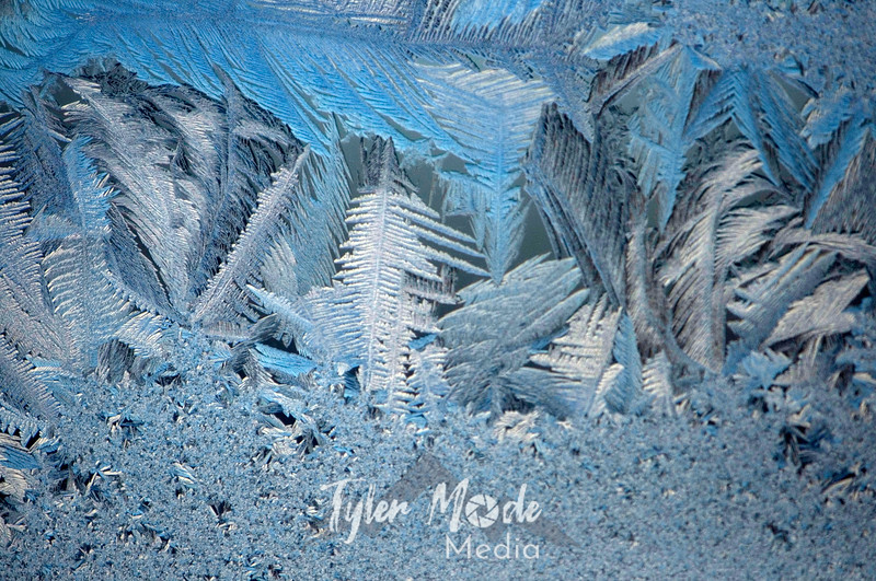 1354  G Ice Crystals Window