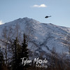 1258  G Helicopter and Mountains
