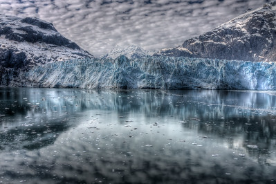 300-ft tall, 1-mile wide, Marjorie Glacier, Inside Passage, Alaska