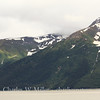 Mountains along the Turnagain Arm
