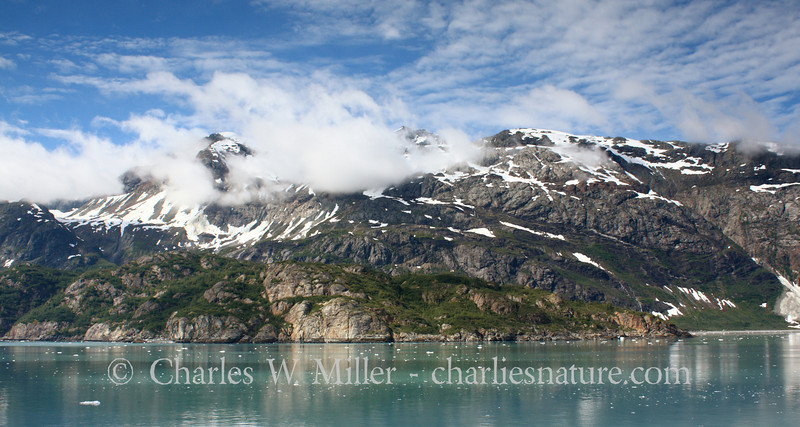 Along Glacier Bay