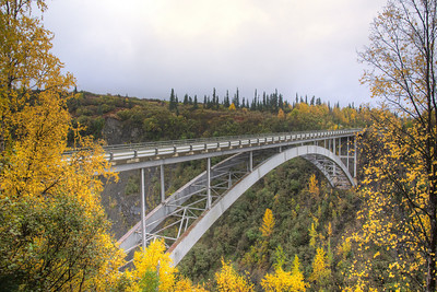 Bridge over Hurricane Gulch
