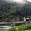 Highway tunnel to Whittier