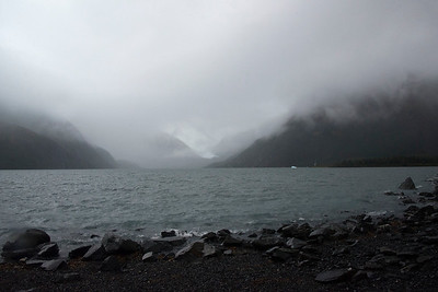 Portage Lake (Portage Glacier is around the corner)