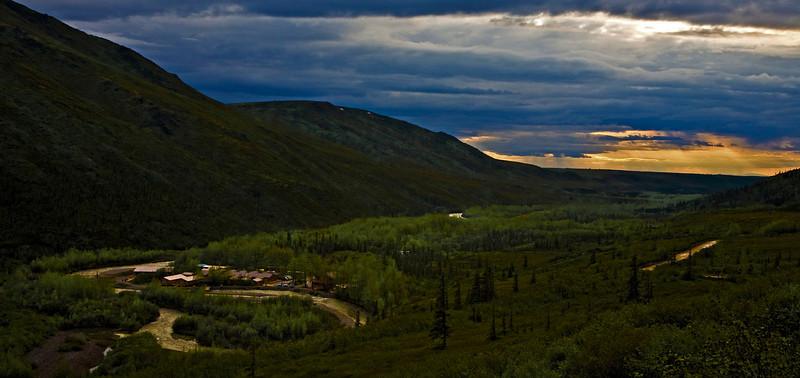 Denali Backcountry Lodge. 90 miles deep into Denali National Park. Denali Alaska