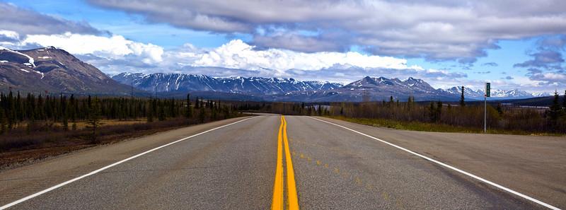 The Parks road from Anchorage to Denali to Fairbanks. Denali Alaska