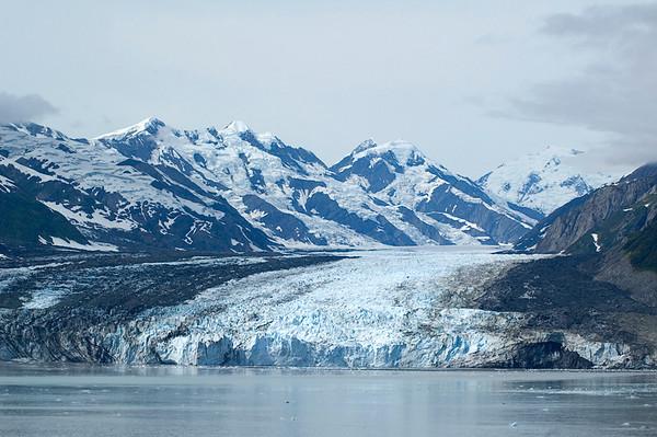 Haenke Glacier, west of Hubbard Glacier from Disenchantment Bay
