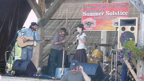 Summer Soltice festival in Moose Pass, Alaska.