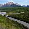 River along the Glenn Highway