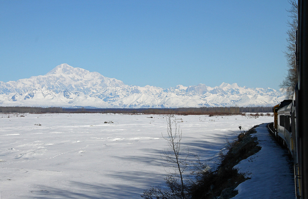Denali from the Train