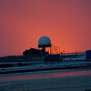 Sunset on Arctic Ocean