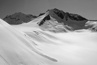 Above the Juneau Ice Field