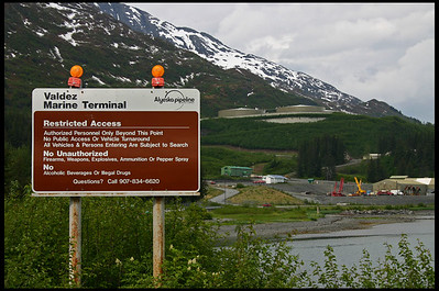 Trans-Alaska Pipeline Terminal at Valdez