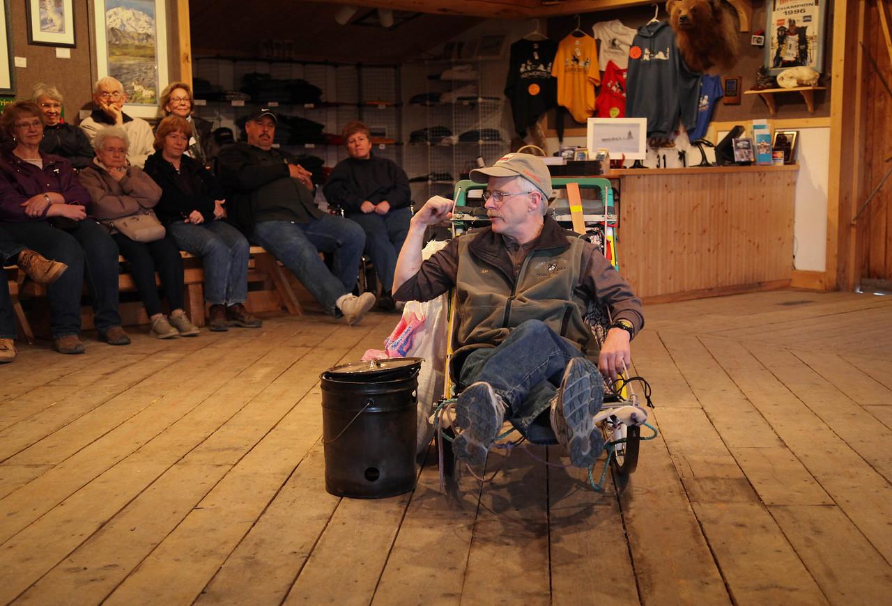 Jeff King, four time Iditarod winner.