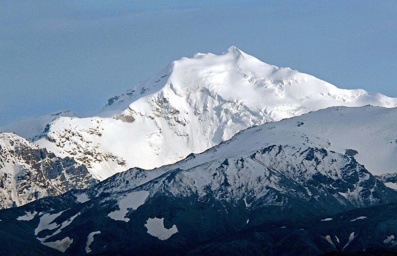 Alaska Range, about 15 miles from Delta Junction