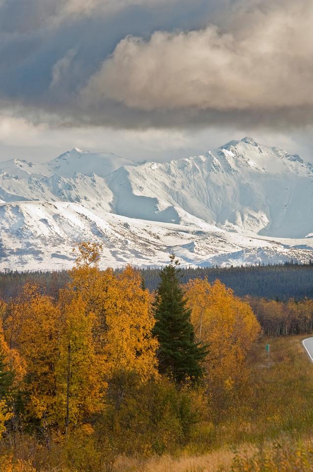 Granite Mountains near the Richardson Highway, 12 miles south of Delta Junction, Alaska