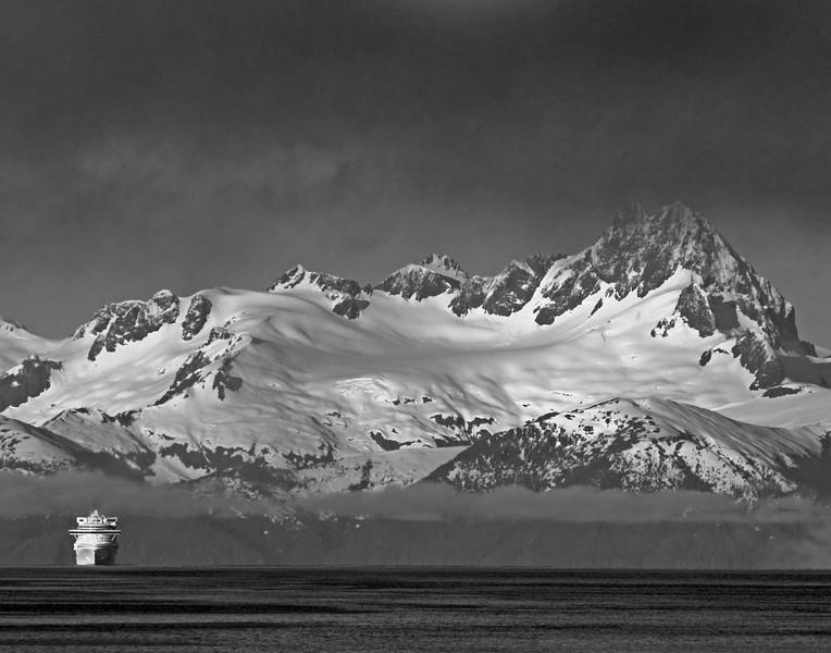 On the way into Juneau, Alaska