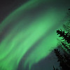 Northern Lights over Fairbanks Alaska