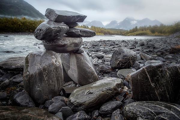 Along the Banks of Glacier View Lake