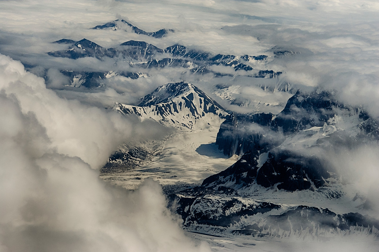 View of the Alaska Range