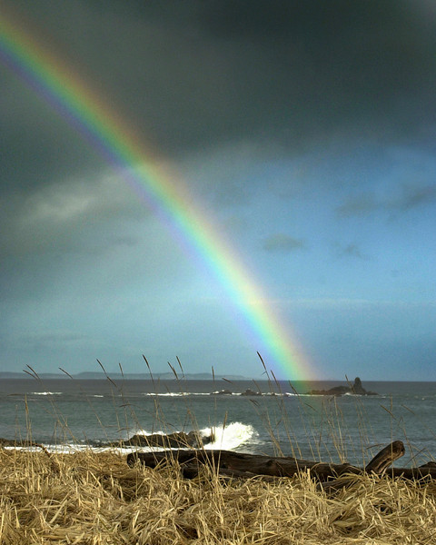 Kodiak Island, End of the Rainbow, somewhere