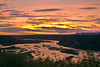Alaska, Sunset, Wrangell-St Elias National Park Landscape, 阿拉斯加 风景