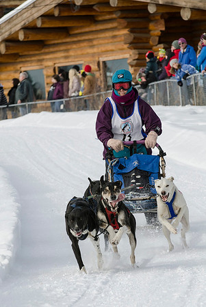 North American Open Dog Sled Races. Some of the dogs' expressions were priceless. (2nd Digital Photojournalism; N4C May 2013)