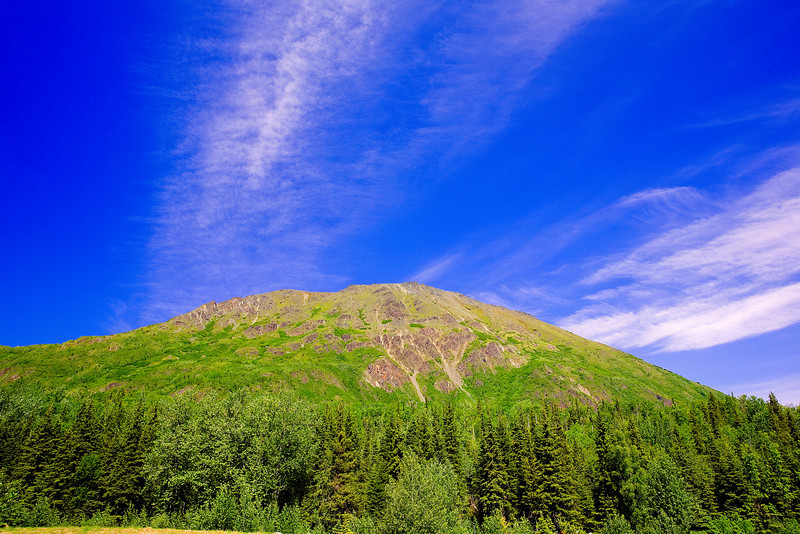 Alaska, Roadside View, Sterling Hwy Landscape, 阿拉斯加 风景